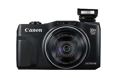 Canon PowerShot SX710 HS Digital Camera - (Video) Black