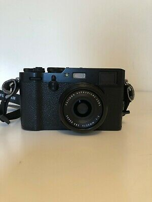 Fujifilm X100F Professional Digital Compact Camera - Black: