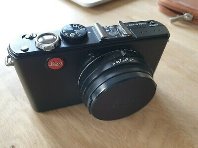 Leica D-LUX MP Digital Camera - Black. Case, Battery
