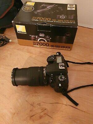NIKON D DSLR Camera with  mm VR Kit Lens - Black