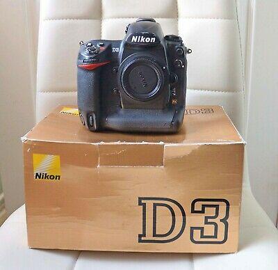 Nikon D3 Body DSLR FX Camera BOXED