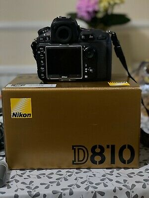Nikon D810 Body Only - Black 36.3mp Nearly New, Only