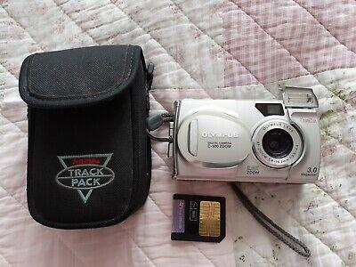 Olympus CAMEDIA C 300Zoom 3.0 MP Digital Camera - Silver