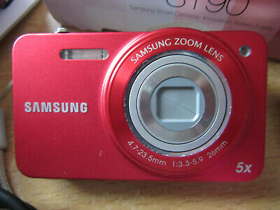 RED Samsung ST Series STMP Digital Camera - Black