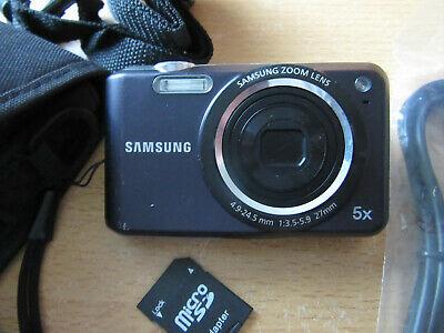 Samsung ES Series ESMP Digital Camera - Black