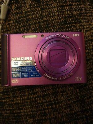 Samsung ST Series ST200F 16.1MP Digital Camera - Plum