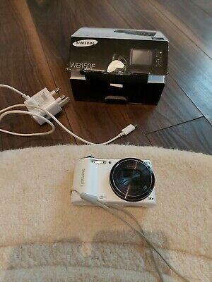 Samsung WB Series WB150F 14.2MP Digital Camera - White