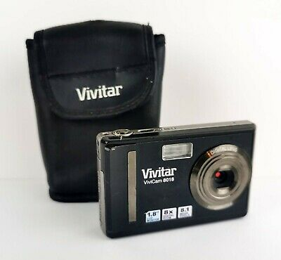Vivitar ViviCam MP Digital Camera - Black - Carry