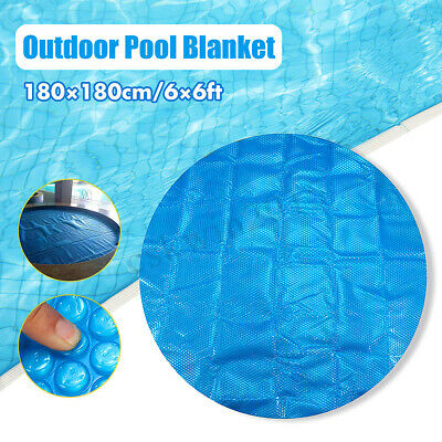 6Ft Round 400 Micron Swimming Pool Hot Tub Cover Solar