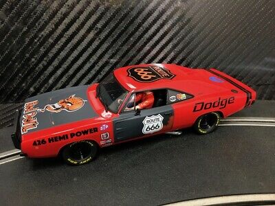 PIONEER SLOT CAR UNBOXED DODGE CHARGER 'RED DEVIL' STREET
