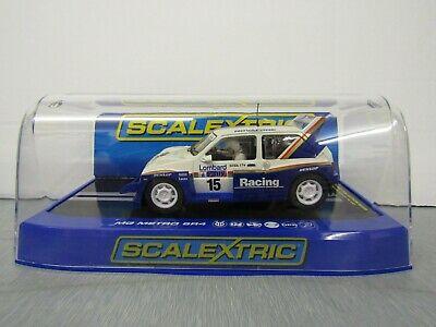 "SCALEXTRIC C - MG METRO 6R4 RALLY CAR "" JIMMY McREA"""