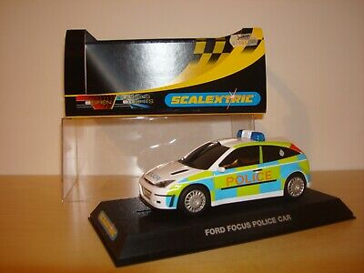 SCALEXTRIC C NOS FORD FOCUS POLICE CAR - MIB