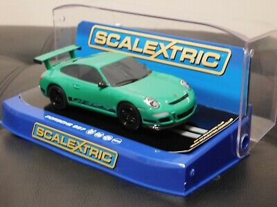 SCALEXTRIC C -PORSCHE 997 GT3 RS GREEN 1:32 Scale