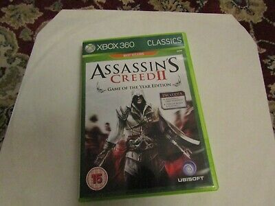 XBOX 360 ASSASSINS CREED II GAME [CLASSICS]