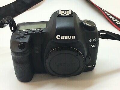 Canon EOS 5D Mark II 22.3MP Digital SLR Camera Body Only -