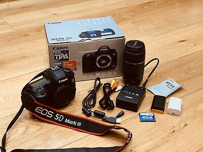 Canon EOS 5D Mark III 22.3MP Digital SLR Camera With Canon