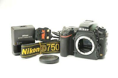Nikon D750 DSLR 24.3mp Camera Body Only **NEW SHUTTER BY