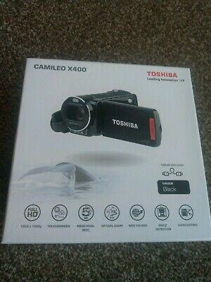 Toshiba Camileo X400 Video Camcorder - HD, Mic Slot, LCD