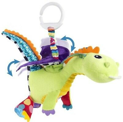 BNWT Lamaze Flip Flap Dragon Clip On Baby Toy 0m+