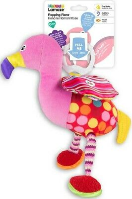 Bnwt Lamaze Flapping Fiona Clip On Flamingo Baby Toy 0m+