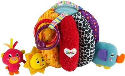 Bnwt Lamaze Grab And Hide Ball Baby Toy 6m+