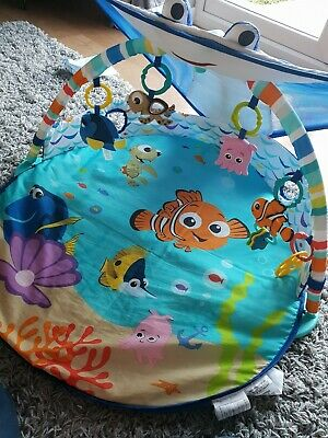 Disney Baby Mr. Ray Ocean Lights Activity Gym and Play Mat