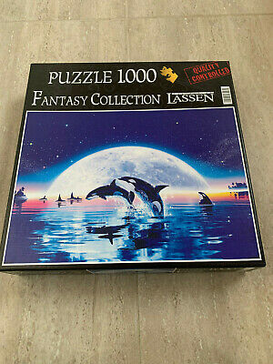 Fantasy Collection Puzzle : Swim In The Moon - Orcas -