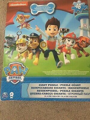Paw Patrol 46 Piece Giant Floor Children/Kids Jigsaw Puzzle