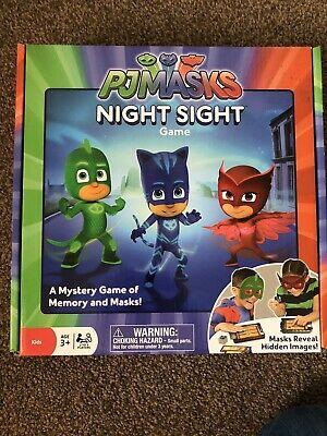 Ravensburger PJ Masks Night Sight Mystery Memory Game