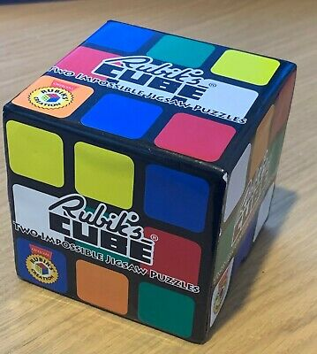 Rubik's Cube Two Impossible Jigsaw Puzzles (unwanted gift,