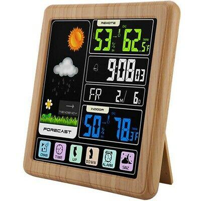 Wireless Weather Station, Color Forecast Station, Digital