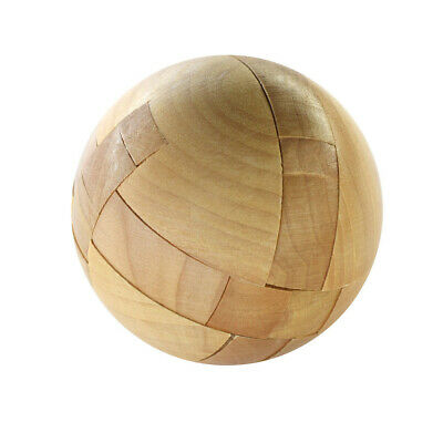 Wooden Intelligence Toy Chinese Brain Teaser Game 3D IQ