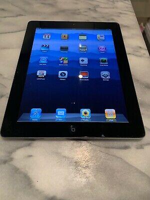 Apple iPad 2 16GB Wi-Fi + 3G Silver Working Fine But Crack