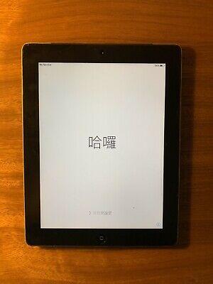 Apple iPad 2 16GB, Wi-Fi + Cellular (Three), 9.7in - Black