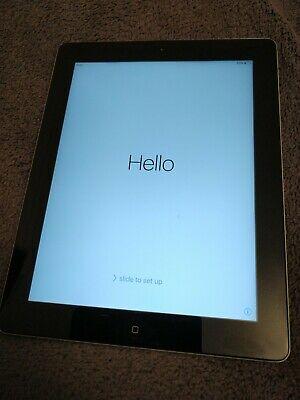 Apple iPad 2 64GB, Wi-Fi, 9.7in - Black (used, fully working