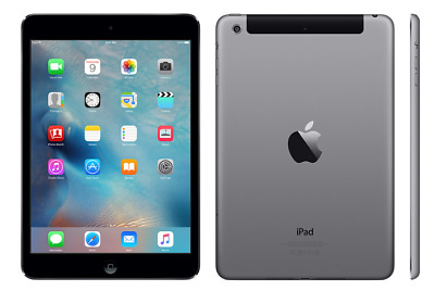 Apple iPad Mini 2 16GB 4G Cellular + WiFi Space Grey Grade