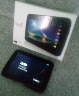 Refurbished 7inch Android Tablet Tesco HUDL HT7B16S3, Black,