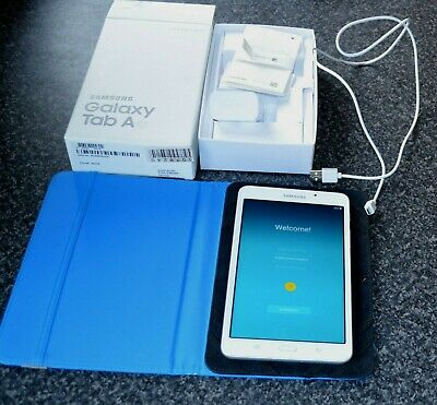 SAMSUNG GALAXY TAB A6 IN WHITE, 8GB WIFI TABLET.7""