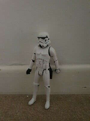 """Star Wars Stormtrooper Action Figure 12"""" - Used but in very"""