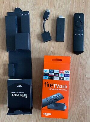 Amazon Fire TV Stick (2nd Gen) with Alexa Voice Remote -