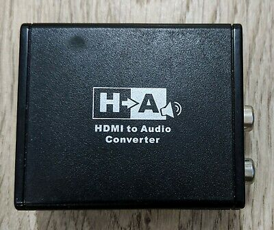 Ex-Pro AV-Pro HDMI Audio Extractor [HDMI to RCA/3.5mm Jack