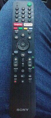 Genuine Original Sony Remote Control For 4K HD TV RMF-TX500E
