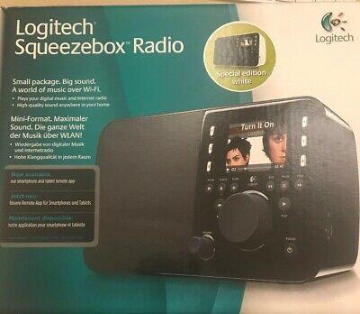 Logitech Squeezebox Radio Digital Media Streamer - Including