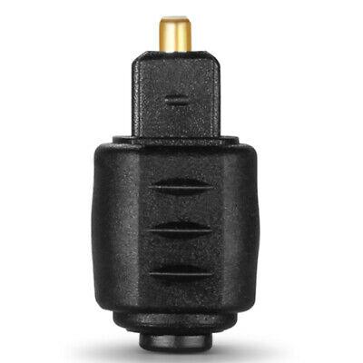 Mini Optical Audio Adapter 3.5MM Female Jack To Digital