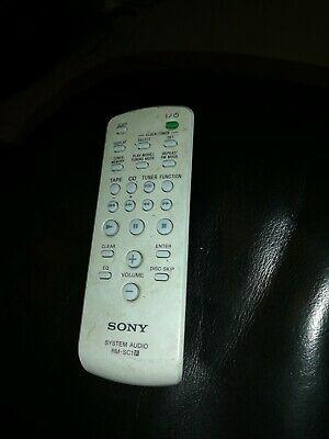 Original Genuine SONY AUDIO Remote Control RM-SC1