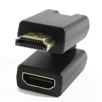 Rotation 360 Degree V1.4 HDMI Male to Female Connector