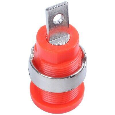 10 Pcs 4mm Safety Protection Plug Binding Post Banana Jack