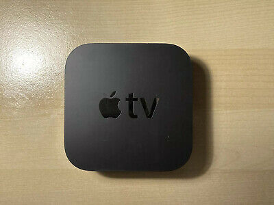 Apple TV 4th Generation Digital HD Media Streamer - Black