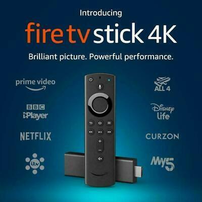 Genuine Amazon 4K Ultra HD HDR Fire TV Stick With Alexa