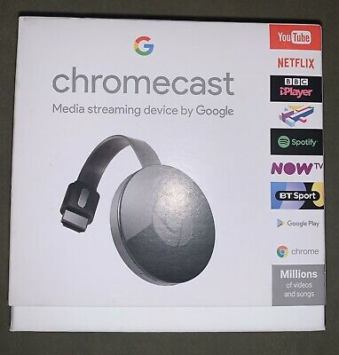 Google Chromecast (2nd Generation) Media Streamer - Black
